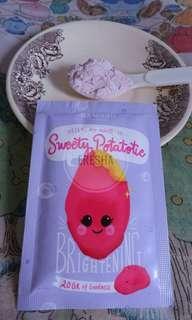 Namo.id Masker Sweety Potatotie 20Gr (Ubi Ungu)