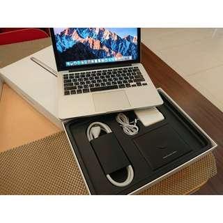 超狂盒裝版 13吋 MacBook Pro 2015年 原廠保內 極新 不二價$28000 A1502 Retina