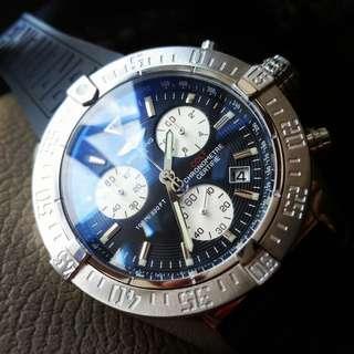 Brt colt chronograph black dial