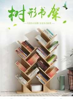 Tree shape book shelves