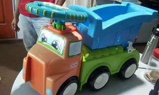 (Reduce Price) LITTLE TIKES 3 in 1 easy rider  Dump Truck