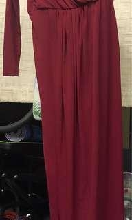 Off Sholder Maxi Dress