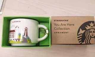 Starbucks slovakia ornamnets 2oz