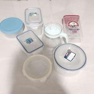 🚚 Tupperware/ Container Set