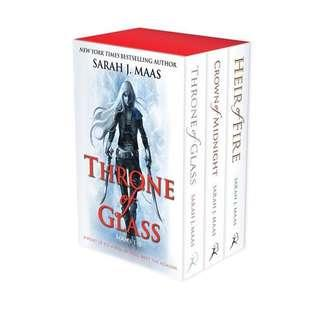 Sarah J Maas Throne Of Glass Boxed Set