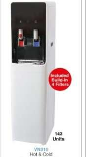 Water dispenser Direct pipe in and bottles type hot and cold floor standing.