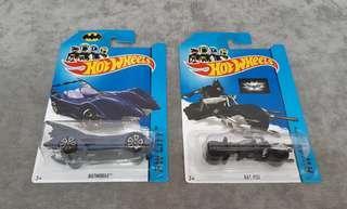 🚚 (Reserved) Hot Wheels Batmobile & Bat-Pod