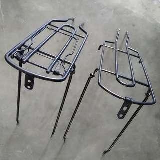 Bicycle Steel rear rack
