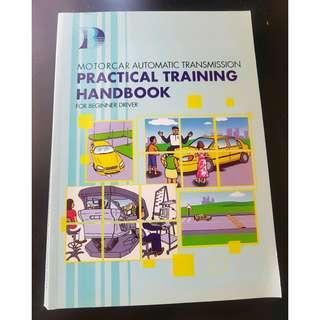 Practical book for beginner drivers