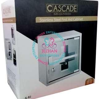 Cascade Stainless Steel First Aid Cabinet