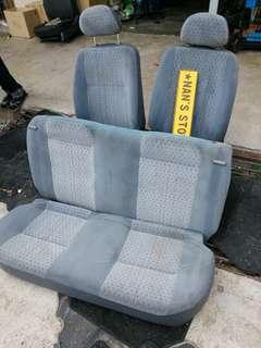 Daihatsu Japan Mira l7 licca seat set for perodua kelisa
