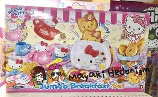 全新 Hello Kitty 31件裝煮飯仔玩具 早餐組合 Jumbo breakfast set 正版非淘寶