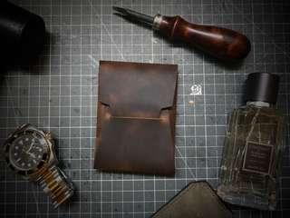 🚚 Handmade Leather minimalist Wallet