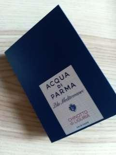 Acqua di parma edt sample