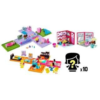🚚 My Mini MixieQ's Bundle - Mini Rooms, Playsets, and Figures