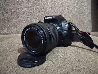 kamera camera dslr eos 100d 18mp digic 5 touchscreen ringan normal