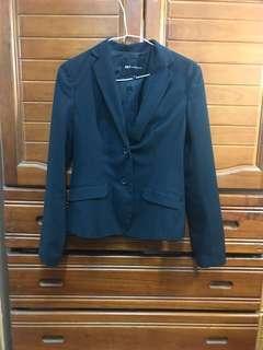 🚚 NET深藍色條紋西裝外套
