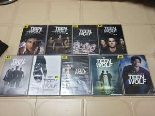 Teen wolf The Complete Series 1-6 DVD.