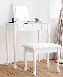 古典化妝桌 化妝台 美甲桌