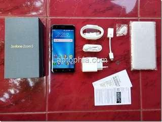 Dijual Asus Zenfone Zoom S second 2.2 net