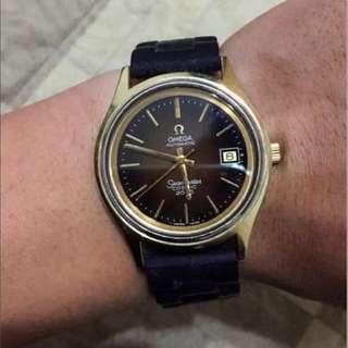 OMEGA海馬系列 18K金 機械錶