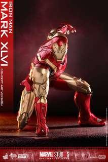 Hot Toys Iron Man Concept Art Mark 46