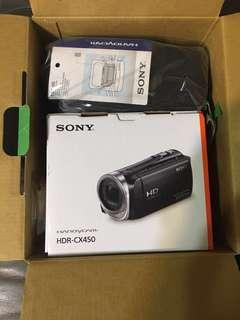 Sony HDR-CX450 攝影機 全新