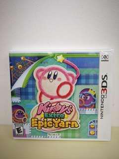 🚚 (Brand New) 3DS Kirby's Extra Epic Yarn / US