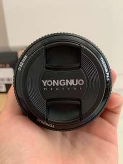 BNIB yongnuo 50mm F1.8