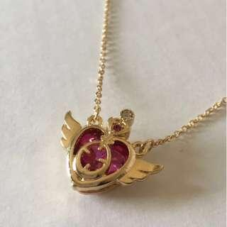 美少女戰士 Sailor Moon 心形頸鏈 (包郵)