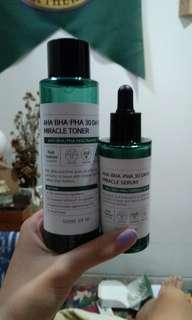 Some By Mi Miracle Toner & SomeByMi Miracle Serum