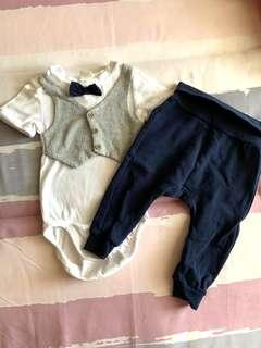 H&M Baby Rompers with Long Pants - free postage