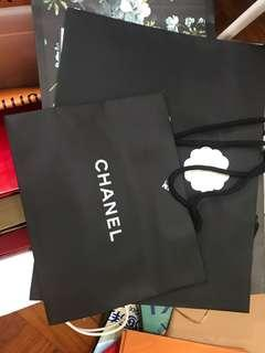 Chanel LV Gucci paper bag 多款奢侈品牌紙袋