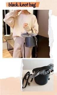 Fashion black bag