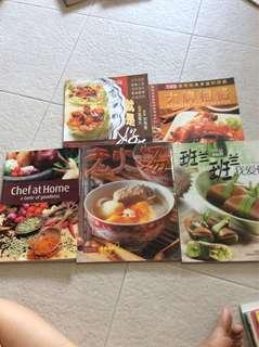 🚚 Cooking books