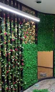 Artificial wall plants