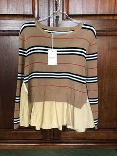 Burberry checked blouse