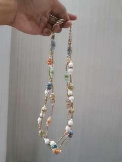 Kalung beads pastel