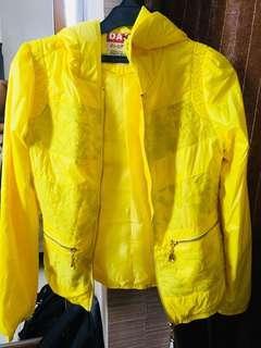 Yellow Bomber hoodie