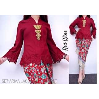 *#3320   KEBAYA ARIAA LACE (excluding dokoh)