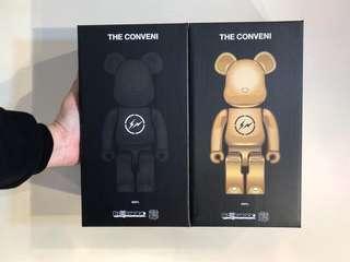 全新fragment x The Conveni Bearbrick 400% set