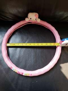 Brand New Hello Kitty driving wheel protector