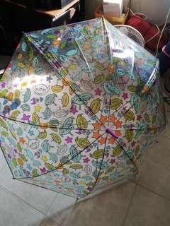 全新三眼仔雨傘 日本買入 迪士尼樂園 Disneyland Umbrella