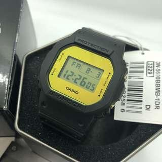 Casio Gshock Classic Black Gold DW5600 with FREE DELIVERY 📦 Unisex G-Shock