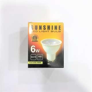 🚚 Sunshine 6W GU10 LED