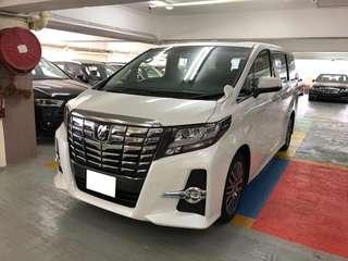 Toyota alphard 3.5 SC