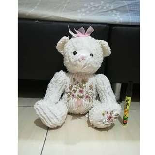 Sweet Flower Teddy Bear