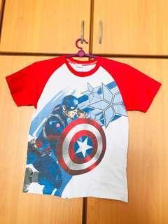 🚚 Captain America T Shirt