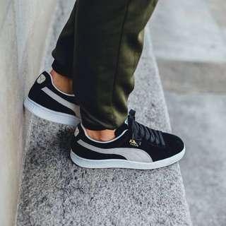 Sepatu Puma Original - Suede Classic+ Black