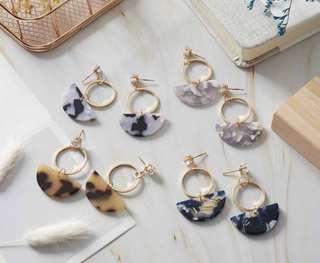 🚚 半月公主耳環